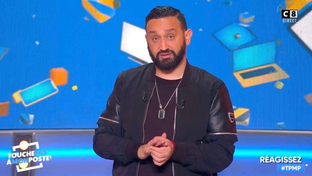 Cyril Hanouna le 11 avril