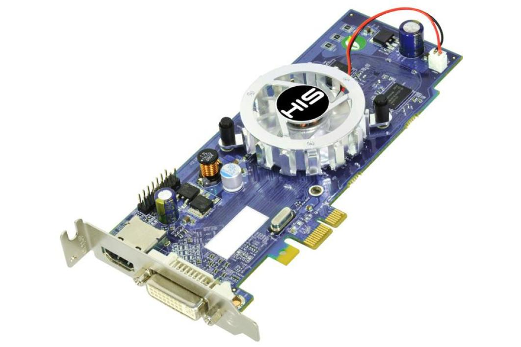 HIS Radeon HD 4350 PCI-Express 1x