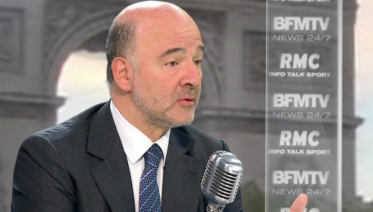 Pierre Moscovici face à Apolline de Malherbe : le retweet de l'interview