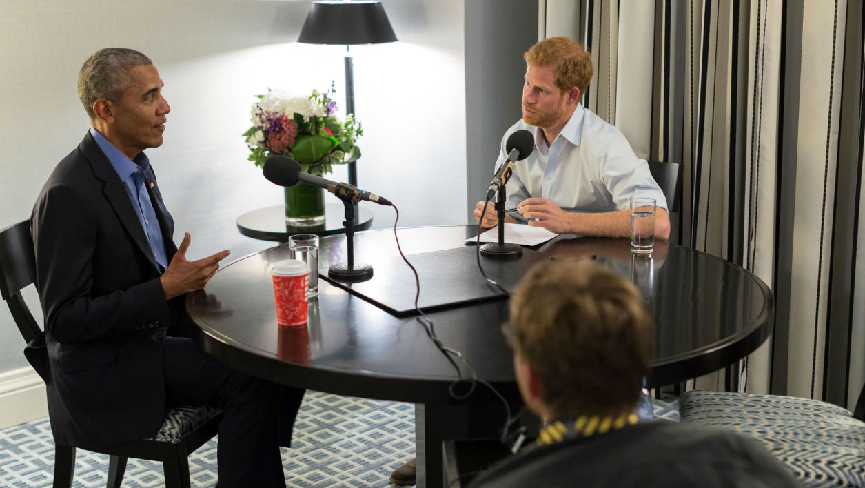 Trump, internet, la Maison-Blanche : Obama se livre au prince Harry