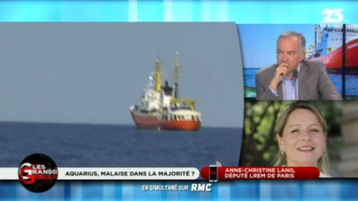 "Aquarius: ""La France se doit de tendre la main à ces gosses qui sont en train de crever"""