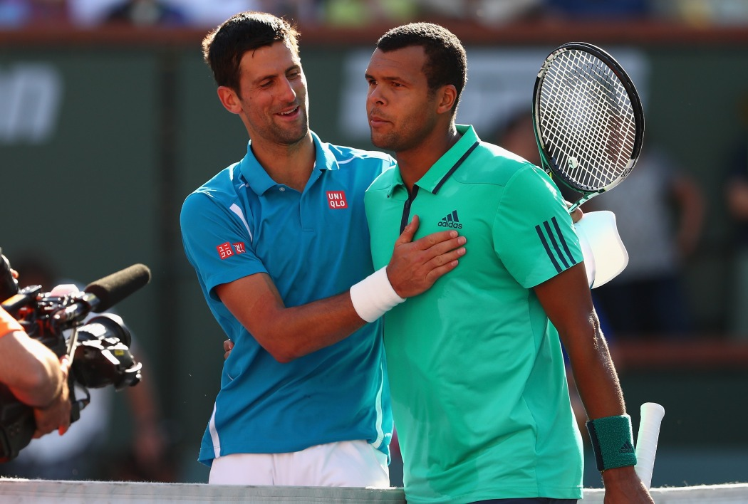 Indian Wells: Djokovic résiste à Tsonga