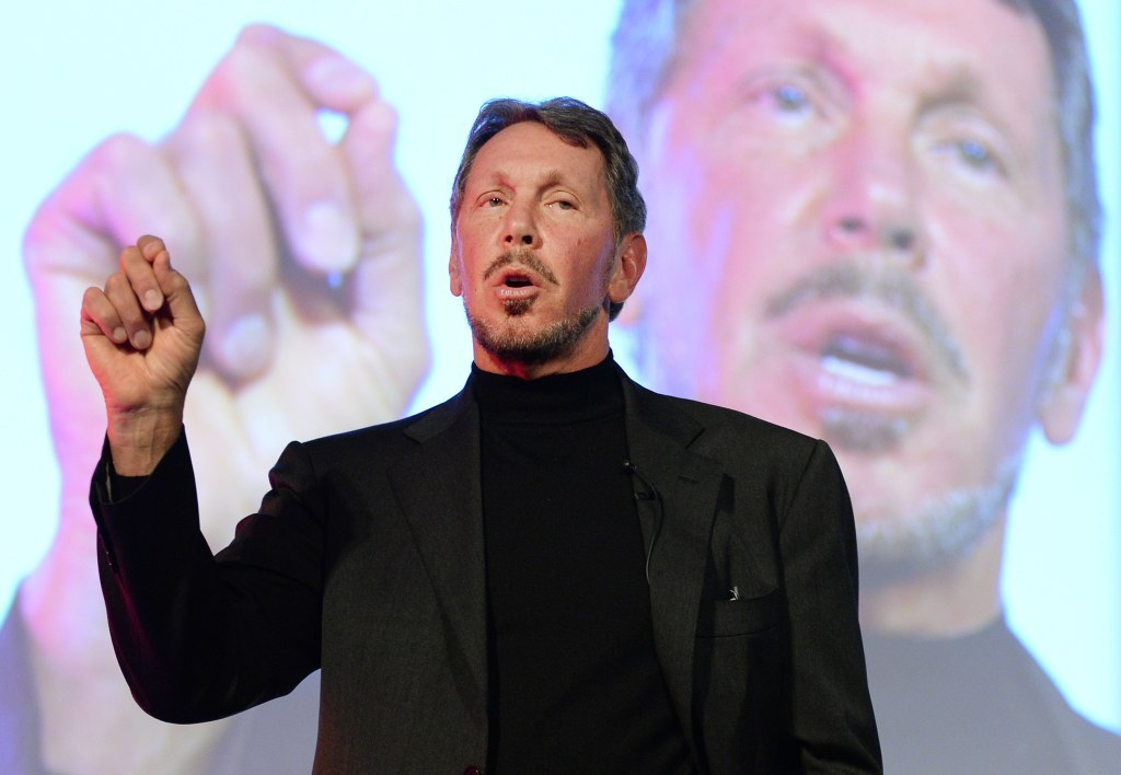 Larry Ellison passe la main.