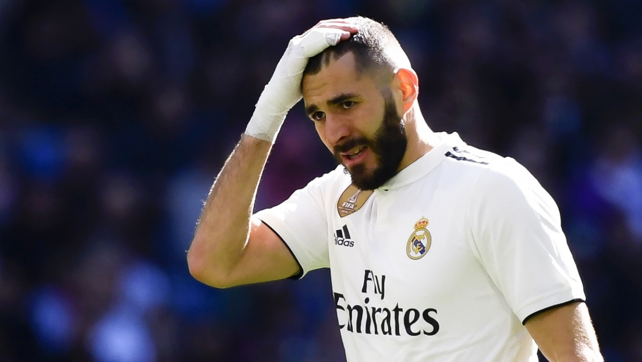 Benzema déception Real Madrid AFP.jpg
