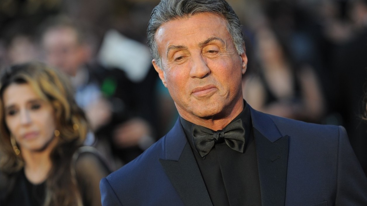Actor Sylvester Stallone arrives on the red carpet for the 88th Oscars on February 28, 2016 in Hollywood, California.