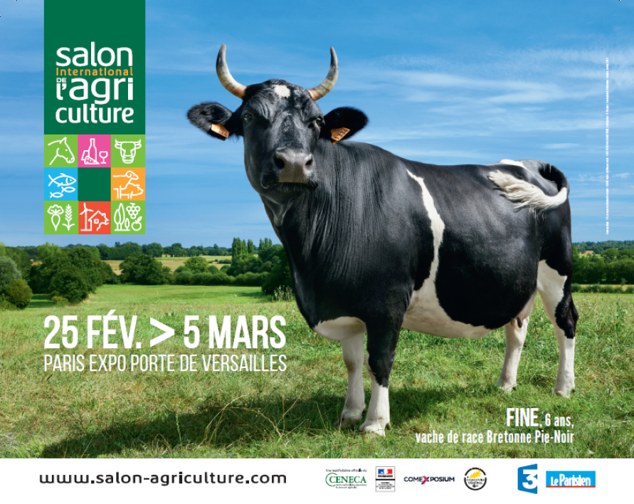 L'affiche du Salon International de l'Agriculture 2017