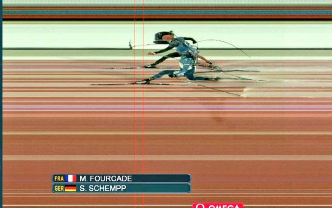 JO 2018: la photo-finish avec Martin Fourcade et Simon Schempp