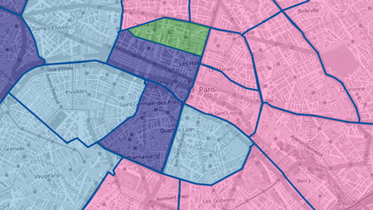 Le rapport de force arrondissement par arrondissement à Paris