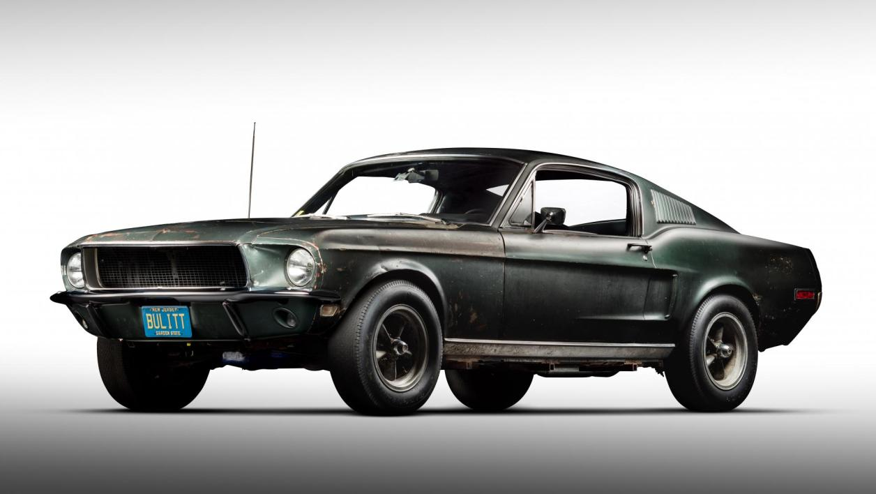 la v ritable histoire de la ford mustang du film bullitt. Black Bedroom Furniture Sets. Home Design Ideas