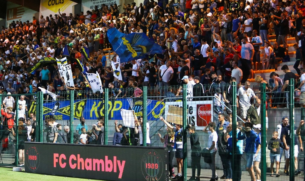Des supporters de Chambly