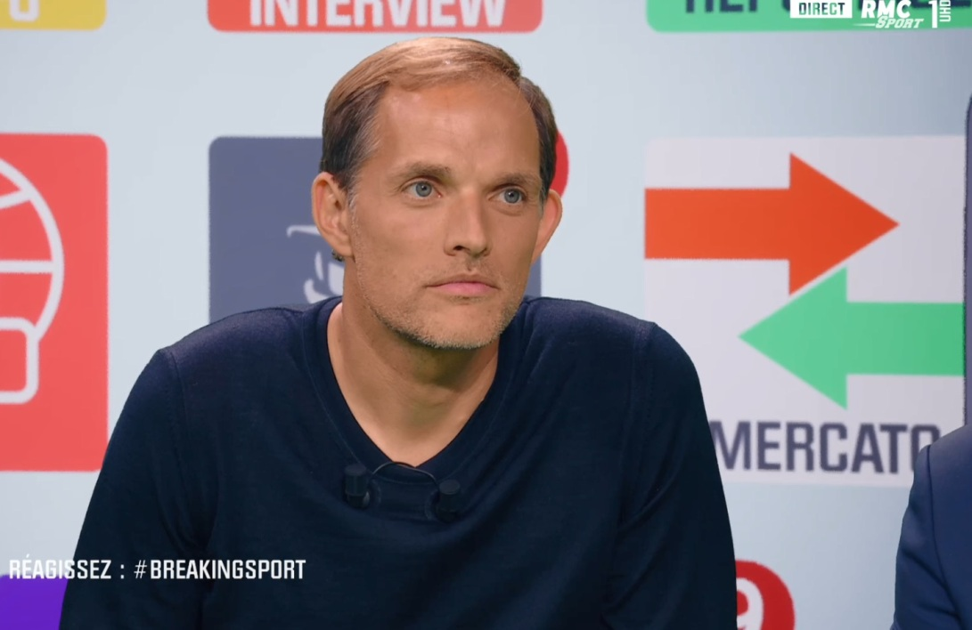 Thomas Tuchel dans Breaking Sport