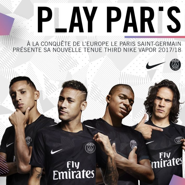 Maillot THIRD PSG Kylian MBAPPE