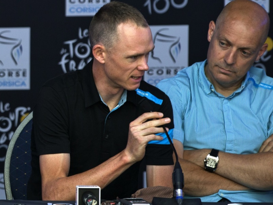 Christopher Froome et Dave Brailsford