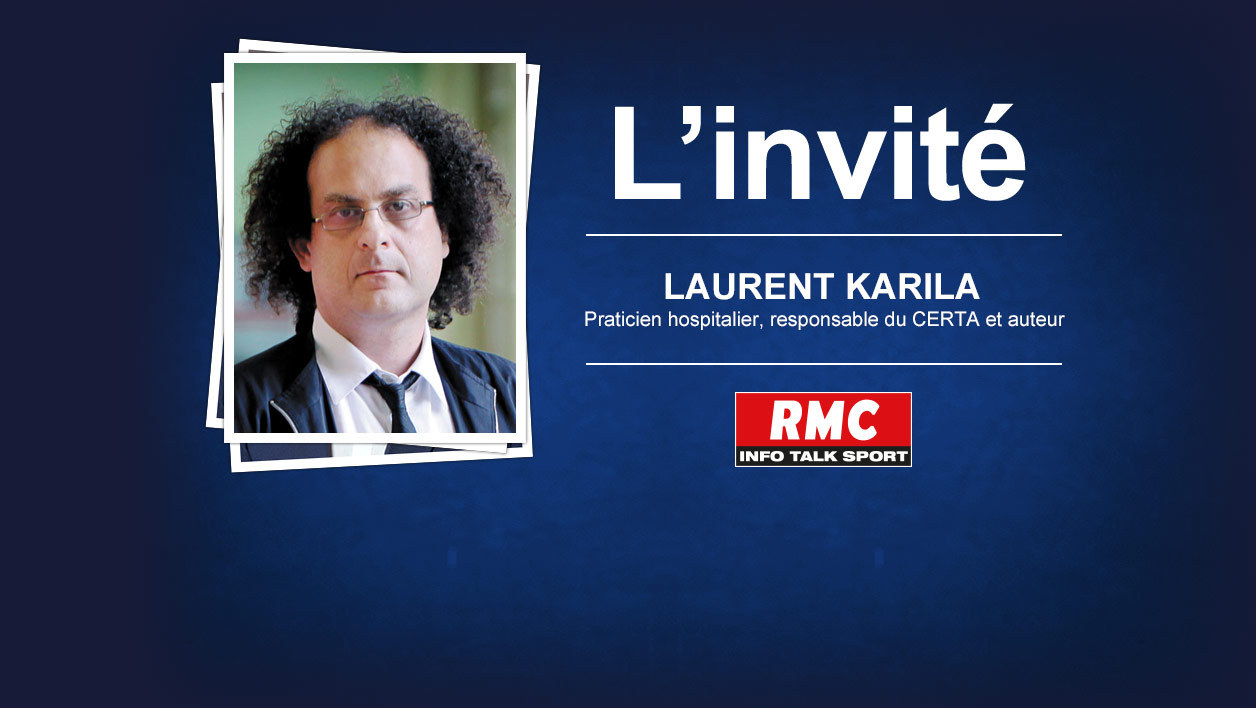 Laurent Karila, l'invité de 15h30