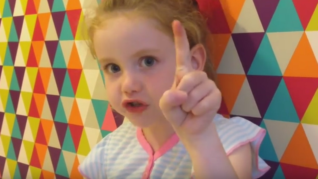 Brooke Blair, 5 ans, a adressé un message à Theresa May.