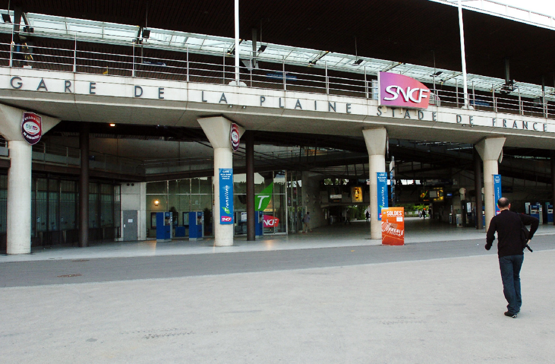 Gare RER La Plaine-Saint-Denis-Stade-de-France