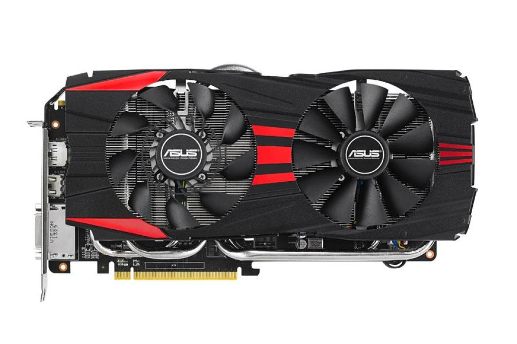 Asus Radeon R9 280X Direct CU II TOP (R9280X-DC2T-3GD5)