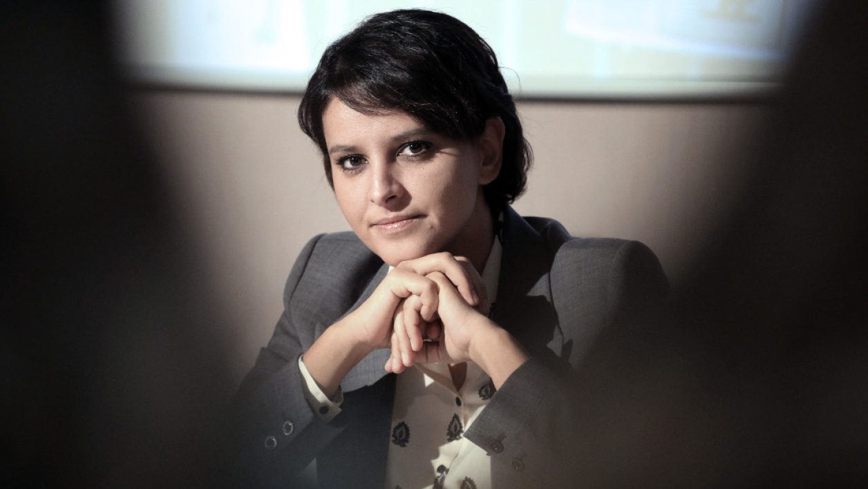 Najat Vallaud-Belkacem, la ministre de l'Education nationale.