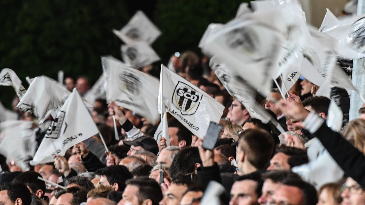 Des supporters d'Angers