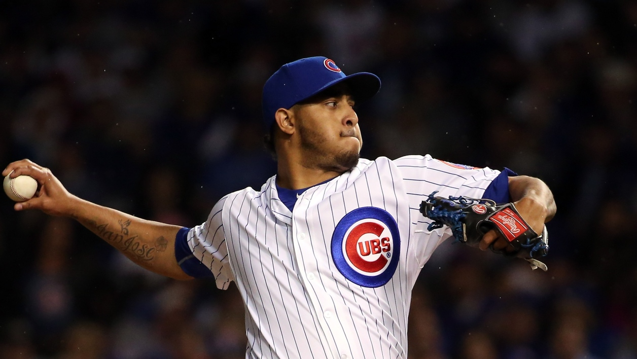 Hector Rondon, lanceur des Chicago Cubs