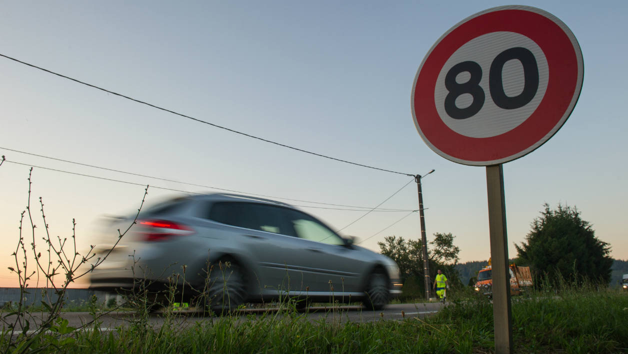 Rapport 80km/h
