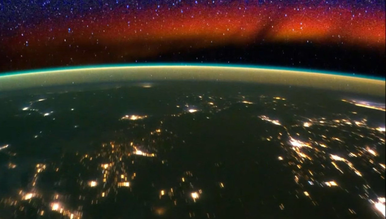 Nasa, ISS, Terre, time-lapse