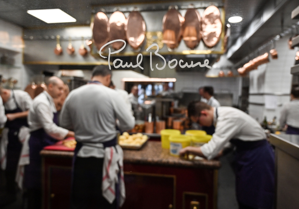 Une brasserie Paul Bocuse.