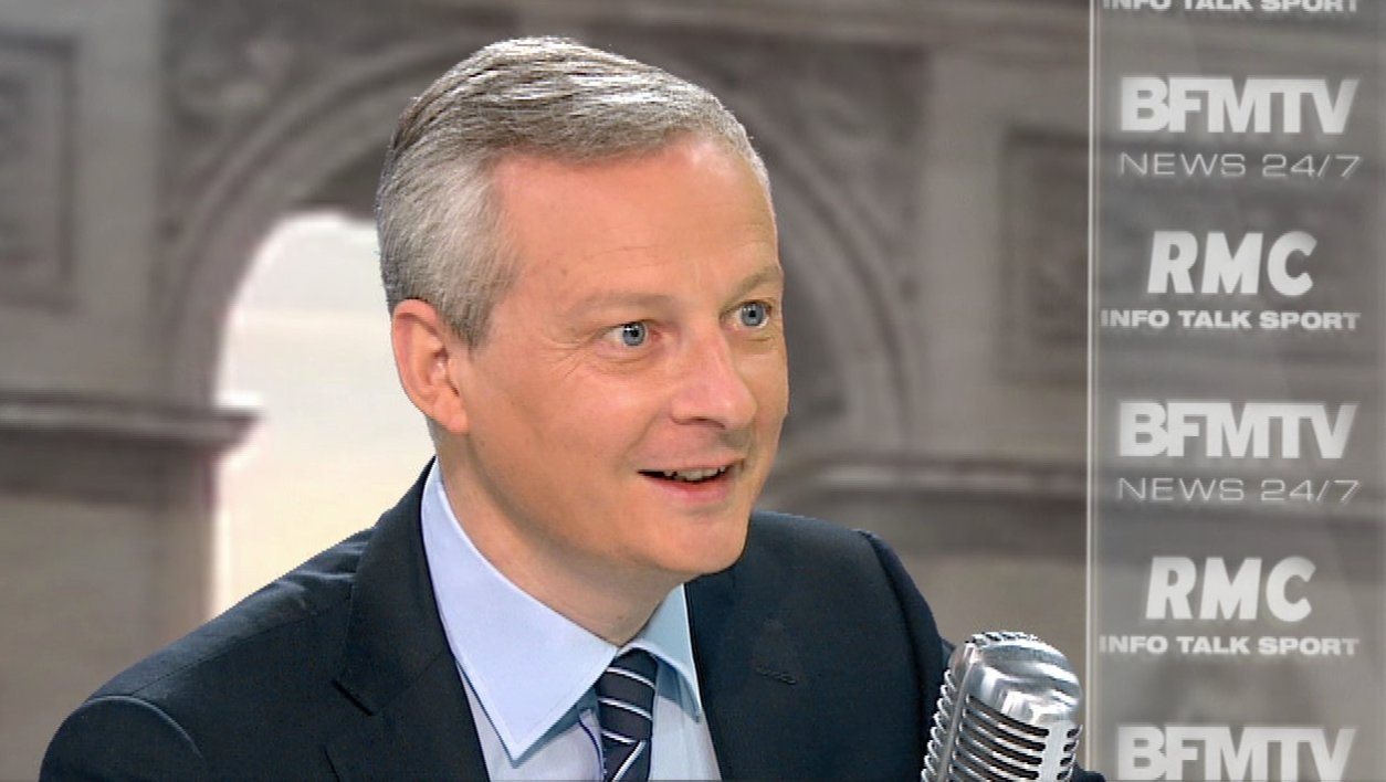 Bruno Le Maire face à Jean-Jacques Bourdin: le récit de l'interview en tweets et en images