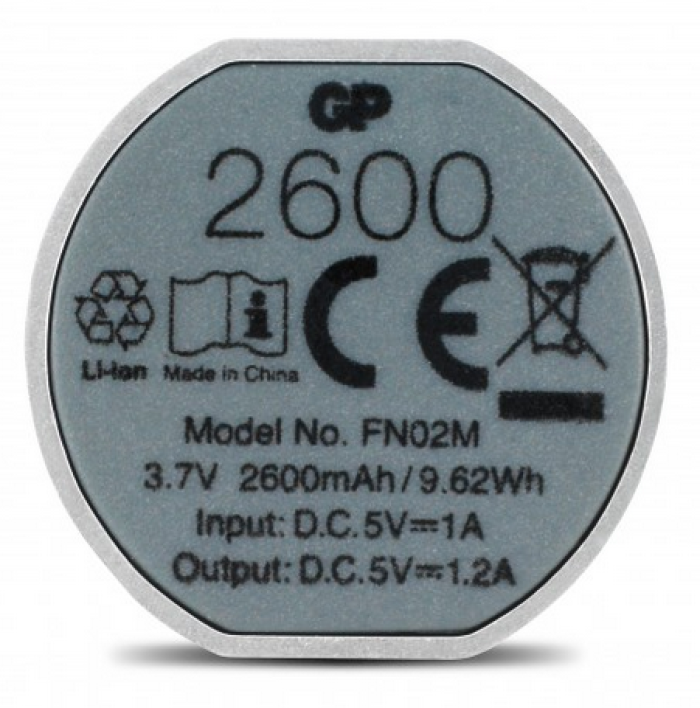 Fiche technique GP Batteries 405088