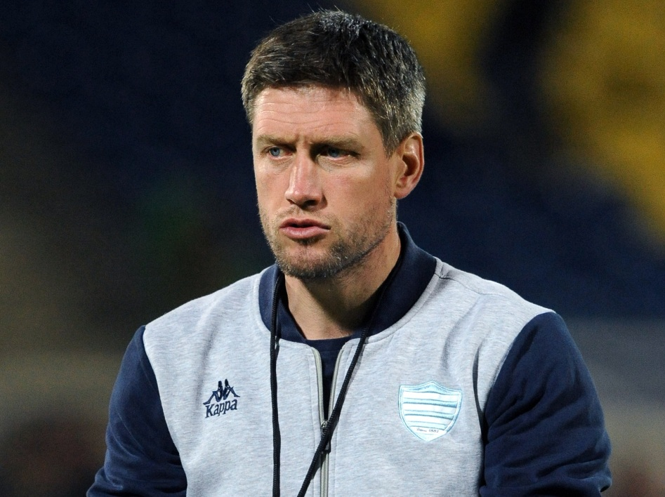 Ronan O'Gara en discussion avec Montpellier