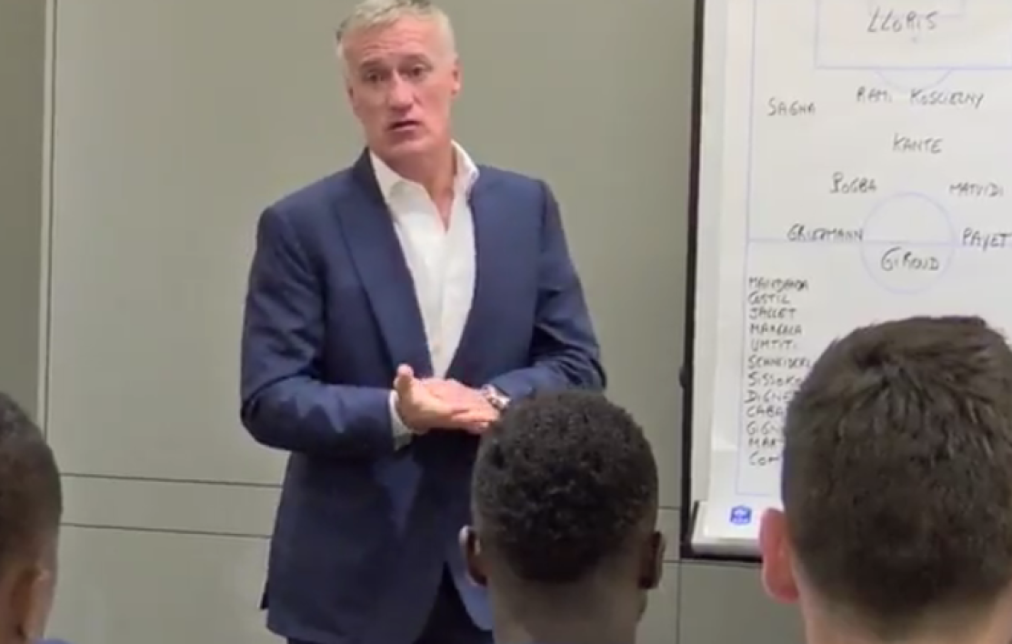 VIDEO - Euro 2016: le discours motivant de Didier Deschamps avant France-Roumanie