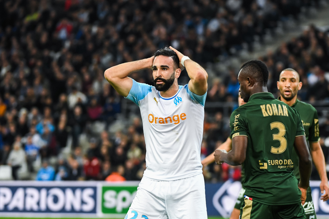 Adil Rami sous le maillot olympien