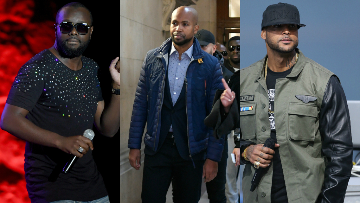 Maître Gims, Rohff et Booba