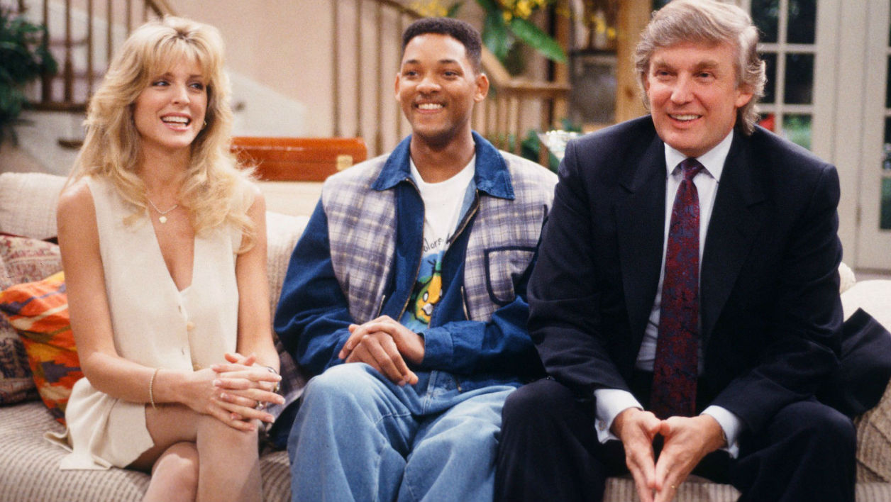 "Donald Trump avait donné la réplique à Will Smith dans ""Le Prince de Bel-Air"""