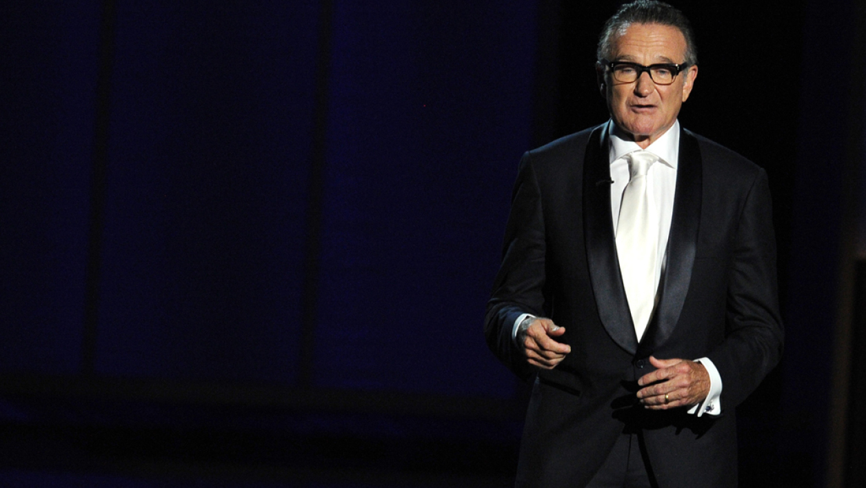 Robin Williams en novembre 2013 à Los Angeles.