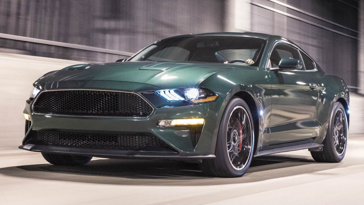 la ford mustang bullitt est de retour. Black Bedroom Furniture Sets. Home Design Ideas