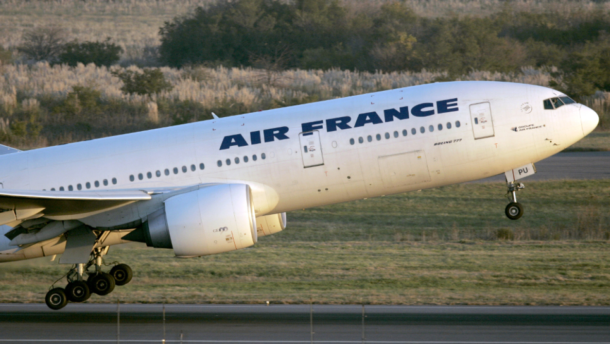 Un Boeing 777 de la compagnie d'Air France.