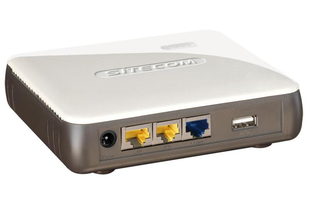 Sitecom WL-326 Wireless 3G Ready Router 300N X2