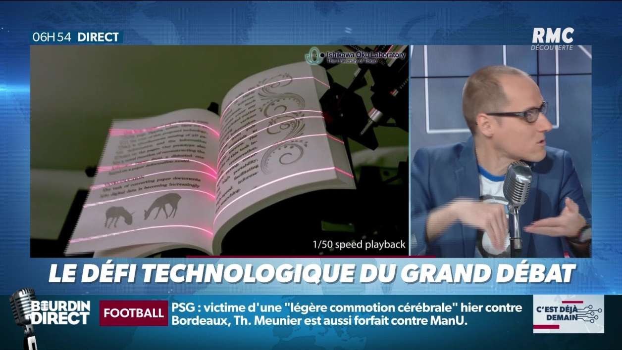 """La chronique d'Anthony Morel"": le défi technologique du ""Grand Débat National"""