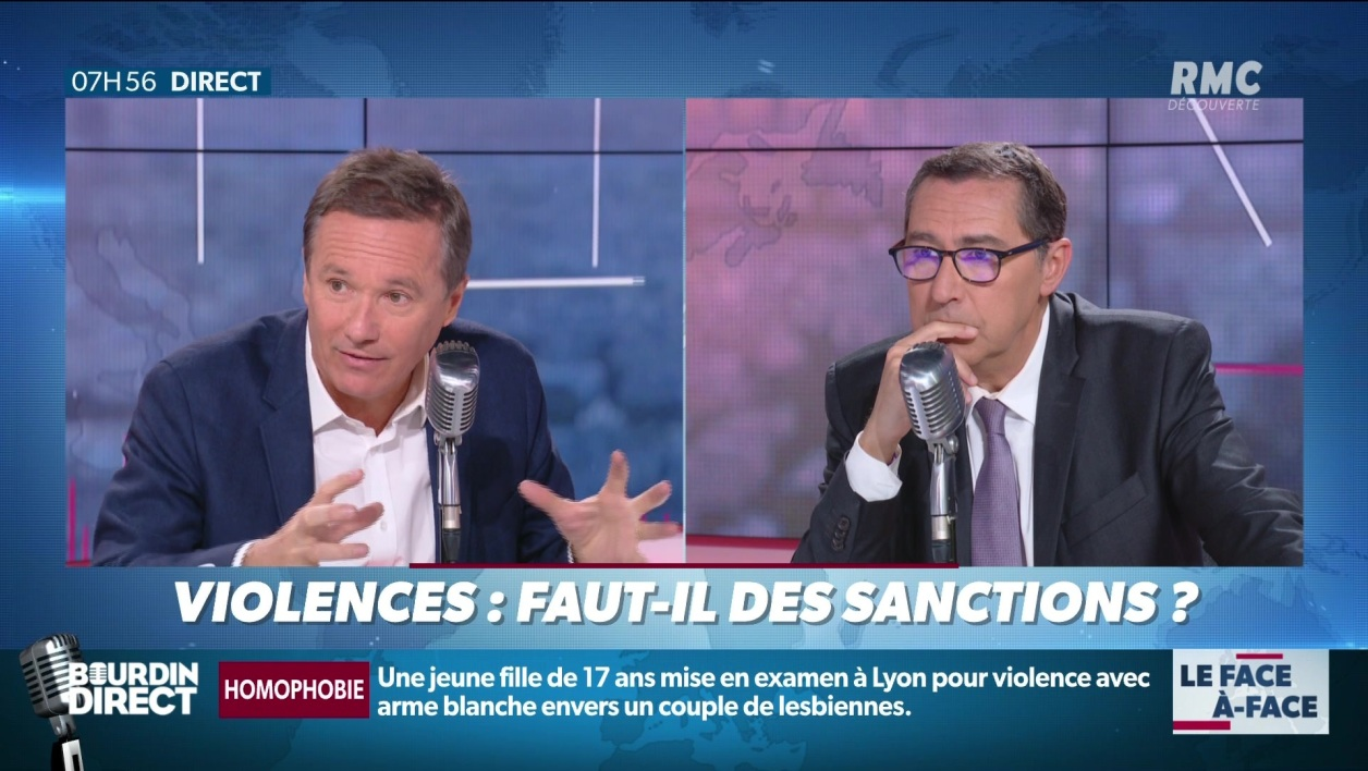 Brunet & Neumann: violences à Paris, faut-il des sanctions?