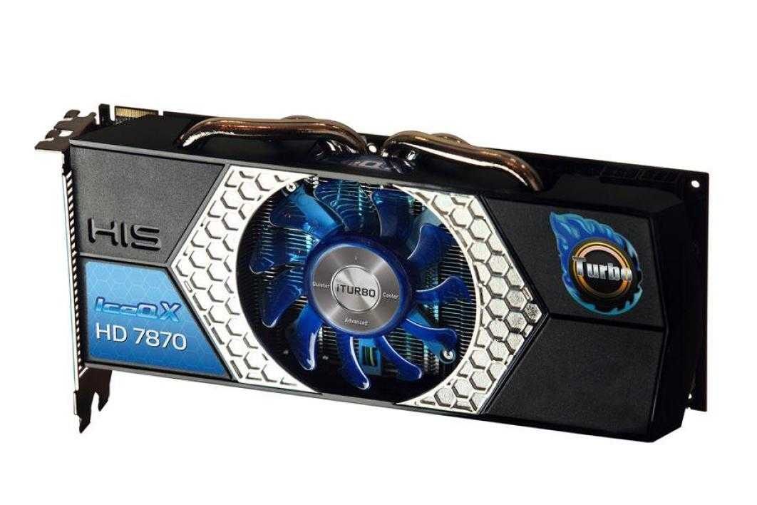 HIS Radeon HD 7870 GHz Edition IceQ X