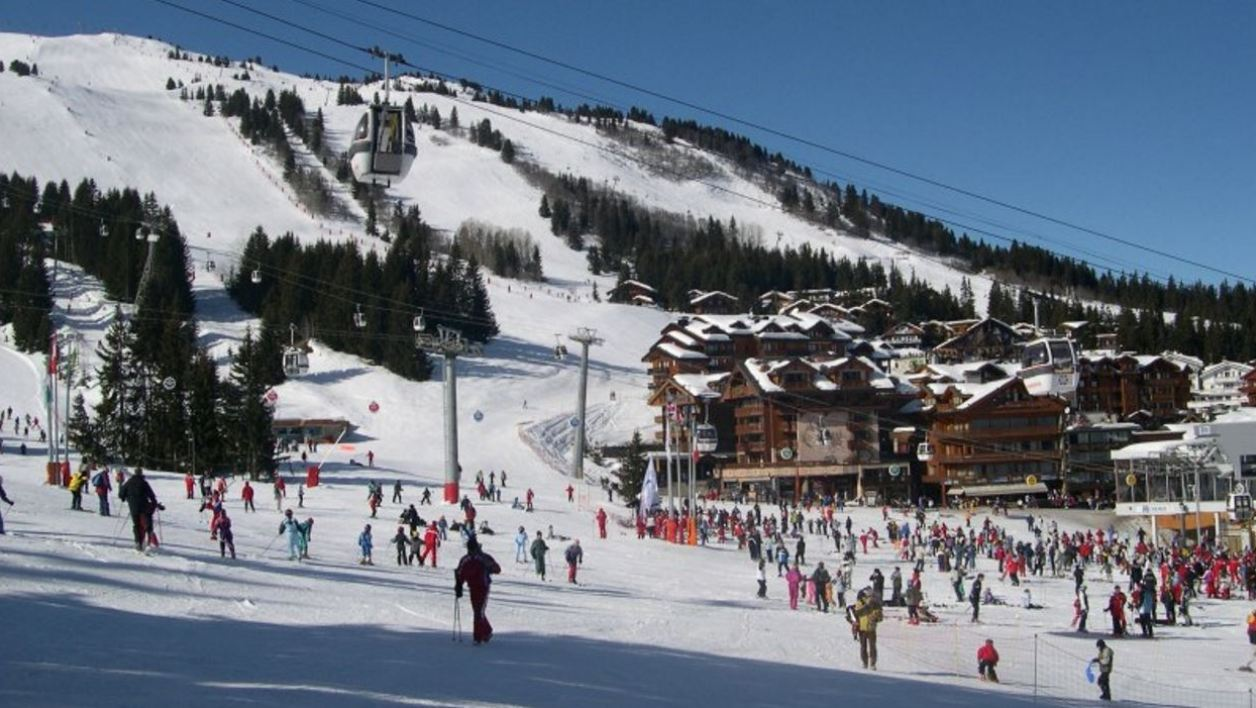 La station de ski Courchevel