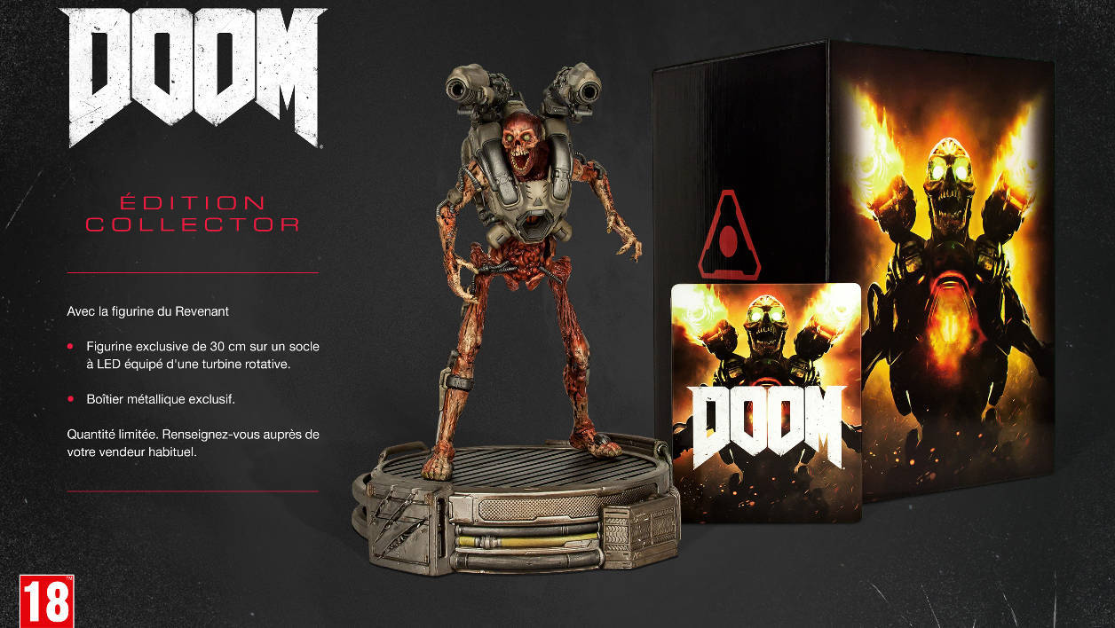 Bethesda Doom Collector Edition