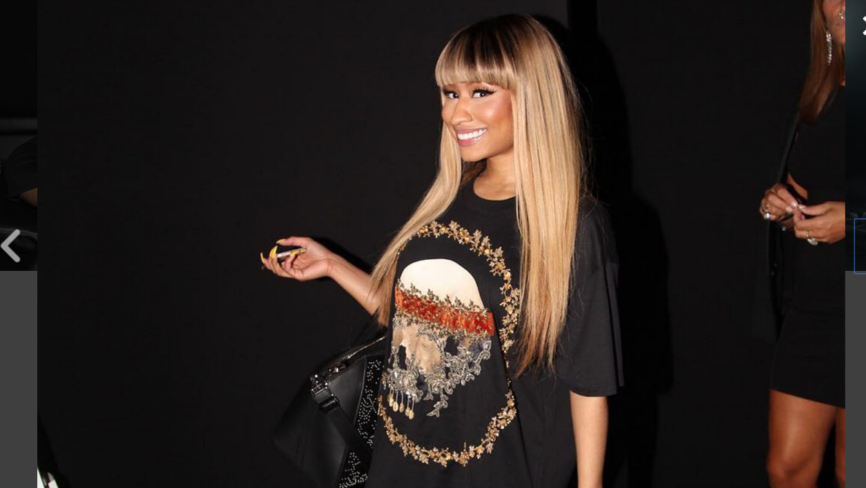 La rappeuse Nicki Minaj à New York, 2015