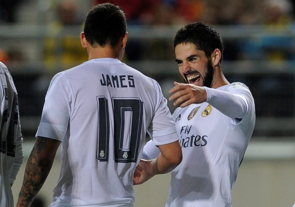 James Rodriguez et Isco