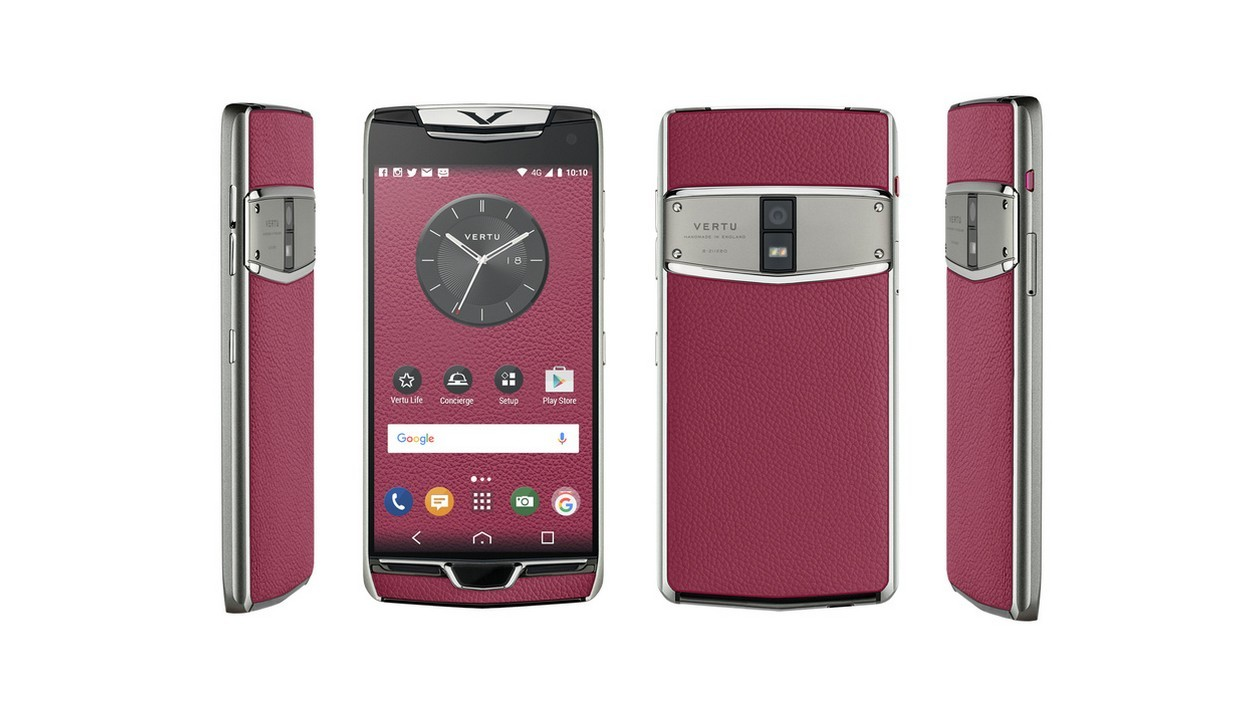 Vertu constellation le smartphone seulement 4 100 euros for Smartphone 100 euro 2017