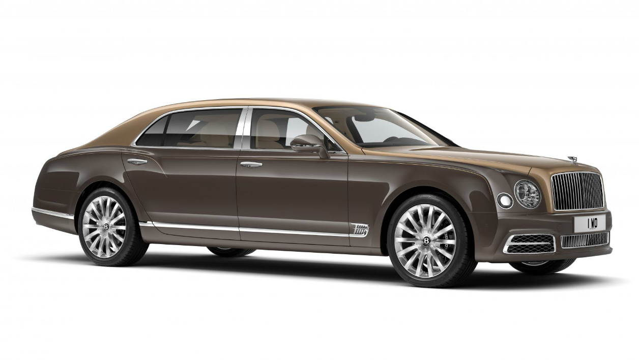 Pékin 2016: la très opulente Bentley Mulsanne First Edition