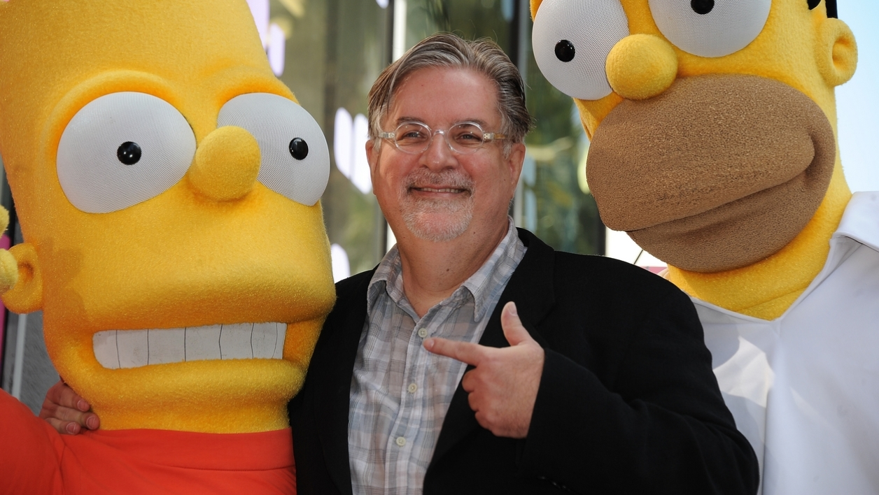 "En 2012, Matt Groening est devenu la 2.459ème étoile sur le ""Walk of Fame"" d'Hollywood."