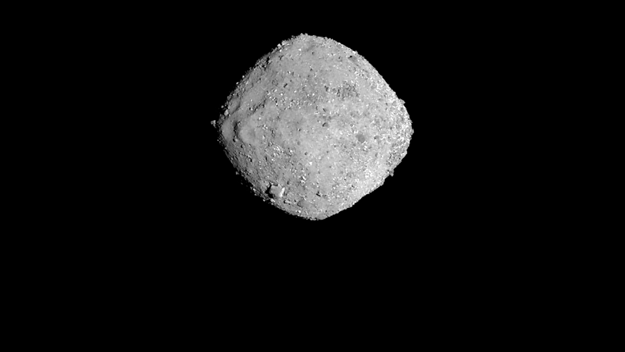 L'astéroïde Bennu, photographié le 16 novembre 2018 - HO / NASA/Goddard/University of Arizona / AFP