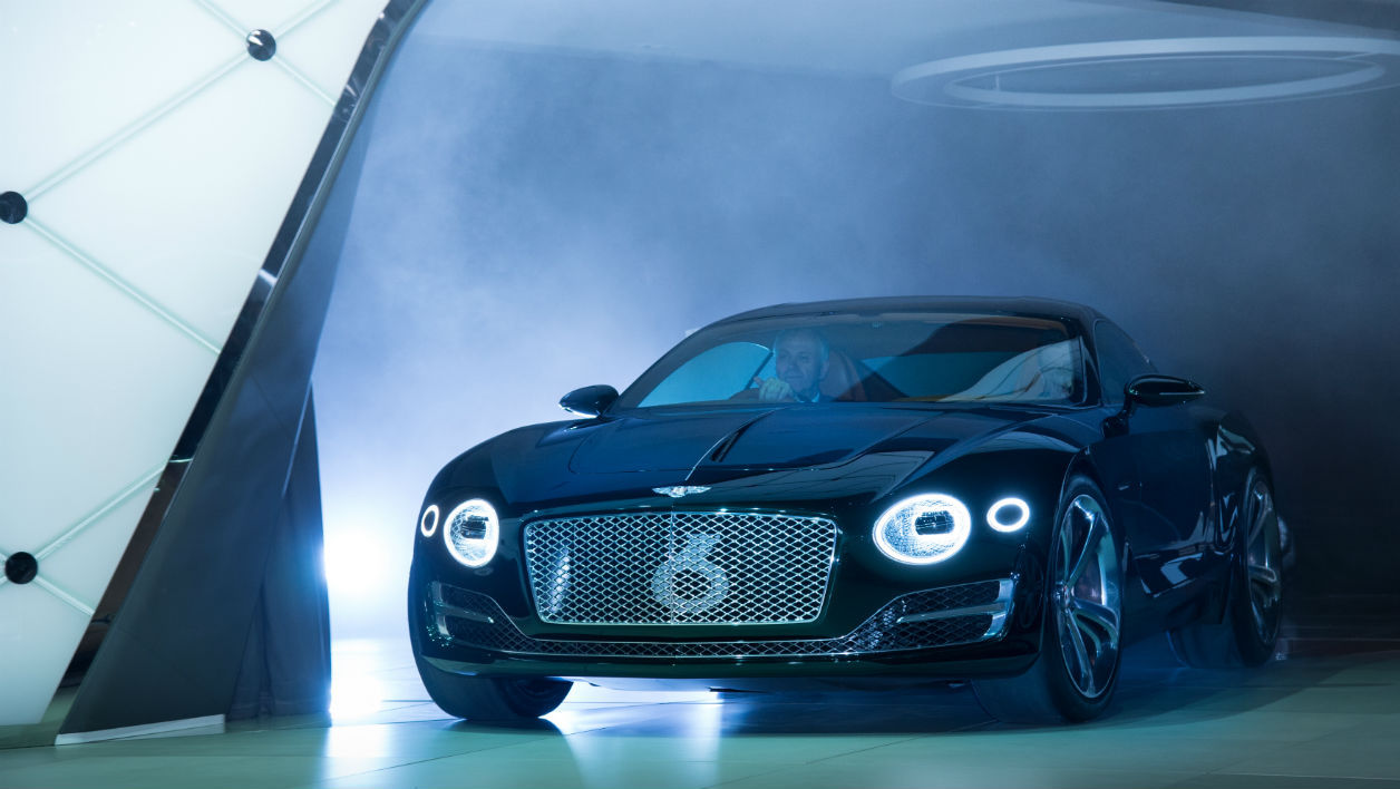 Bentley se met au coupé sport deux places.